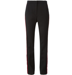 Lanvin contrasted stripe trousers