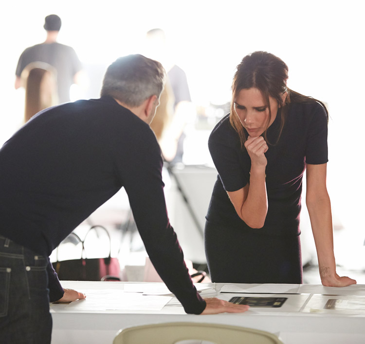 Victoria Beckham teams up with Estee Lauder