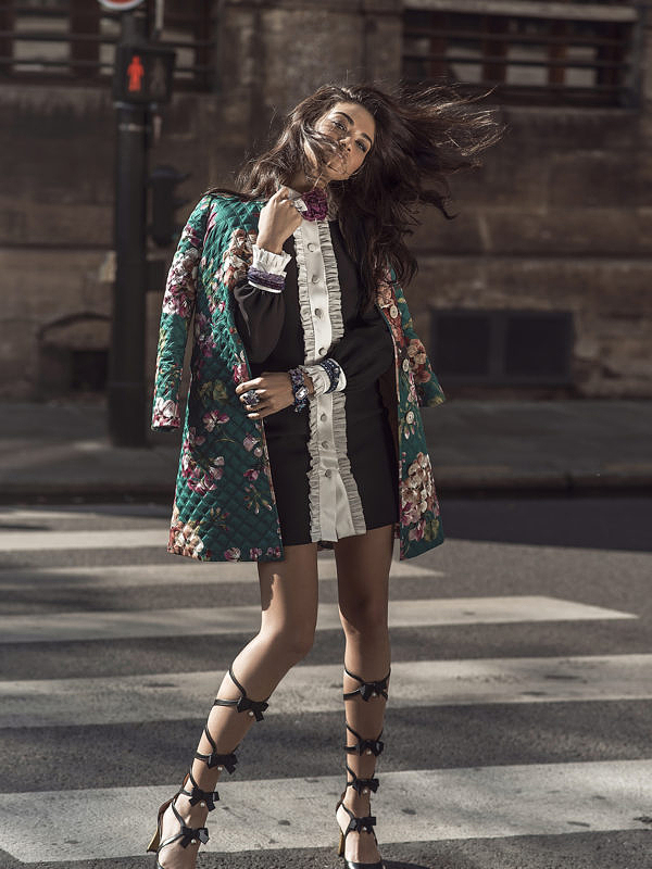 Blooming Paris Shanina Shaik|Margaret Zhang