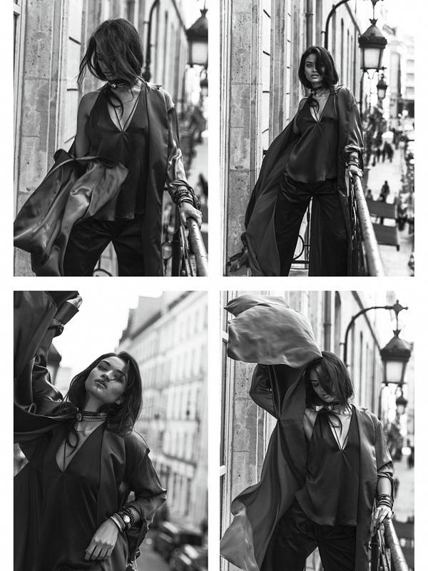 Blooming Paris - Shanina Shaik|Margaret Zhang