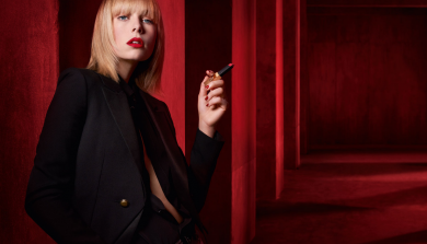 Edie Campbell x Rouge Pur Couture The Slim // YSL 2018