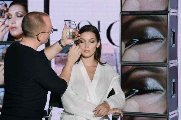 Dior Backstage 2019 / Bella Hadid