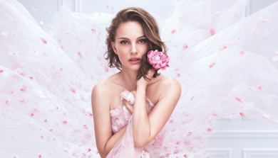 Natalie Portman is the face of the new Miss Dior Rose N'Roses // BEAUTENET