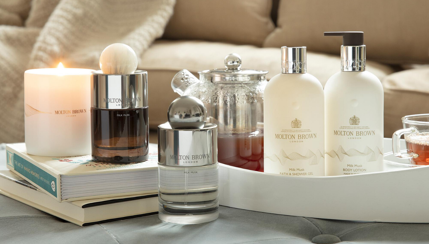 Molton Brown // Milk Musk Collection